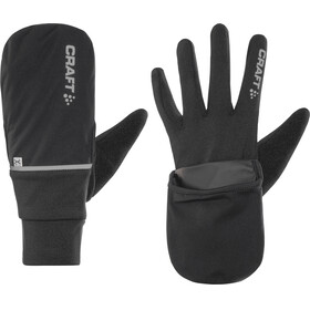 Craft Hybrid Weather - Guantes largos - negro